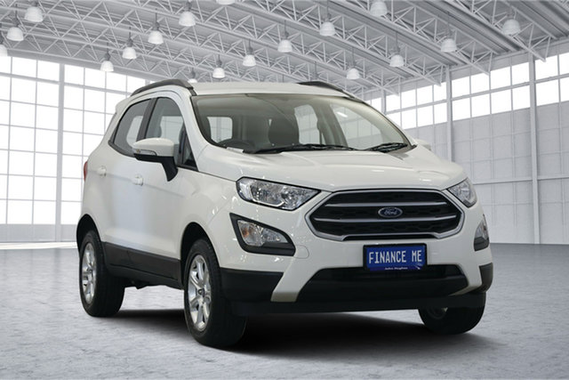 Used Ford Ecosport BL Trend, 2018 Ford Ecosport BL Trend Diamond White 6 Speed Automatic Wagon