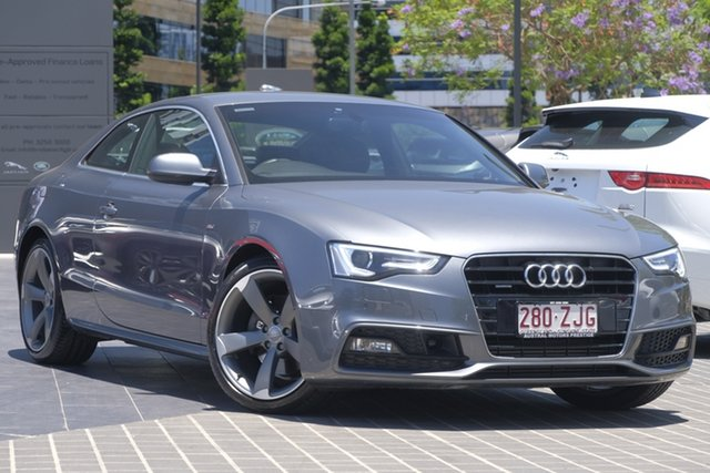 Used Audi A5 8T MY16 S Tronic Quattro, 2016 Audi A5 8T MY16 S Tronic Quattro Grey 7 Speed Sports Automatic Dual Clutch Coupe