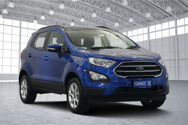 Used Ford Ecosport BL Trend, 2018 Ford Ecosport BL Trend Blue Lightning 6 Speed Automatic Wagon