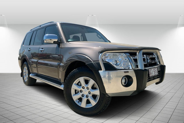 Used Mitsubishi Pajero NW MY12 GLX, 2011 Mitsubishi Pajero NW MY12 GLX Brown 5 Speed Sports Automatic Wagon