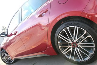 2021 Kia Cerato BD MY21 GT DCT Runway Red 7 Speed Automatic Hatchback
