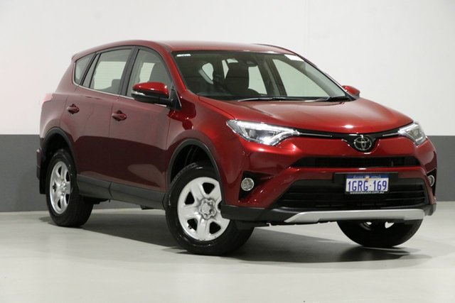 Used Toyota RAV4 ZSA42R MY18 GX (2WD), 2018 Toyota RAV4 ZSA42R MY18 GX (2WD) Red Continuous Variable Wagon