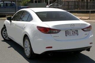 2012 Mazda 6 GJ1031 Sport SKYACTIV-Drive Snowflake White 6 Speed Sports Automatic Sedan.
