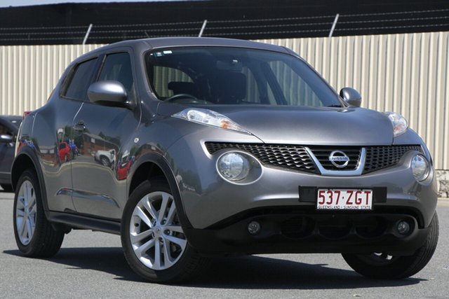 Used Nissan Juke F15 MY14 ST 2WD, 2013 Nissan Juke F15 MY14 ST 2WD Gun Metallic 1 Speed Constant Variable Hatchback
