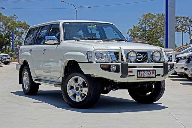 Used Nissan Patrol GU 7 MY10 ST, 2012 Nissan Patrol GU 7 MY10 ST White 5 Speed Manual Wagon