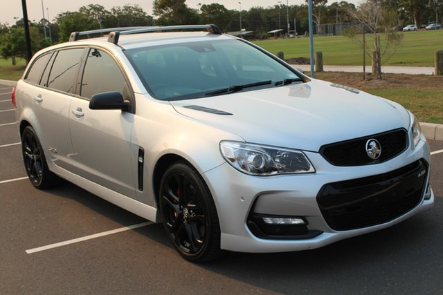 Used Holden Commodore VF II MY17 SS V Sportwagon Redline, 2017 Holden Commodore VF II MY17 SS V Sportwagon Redline Nitrate Silver 6 Speed Sports Automatic