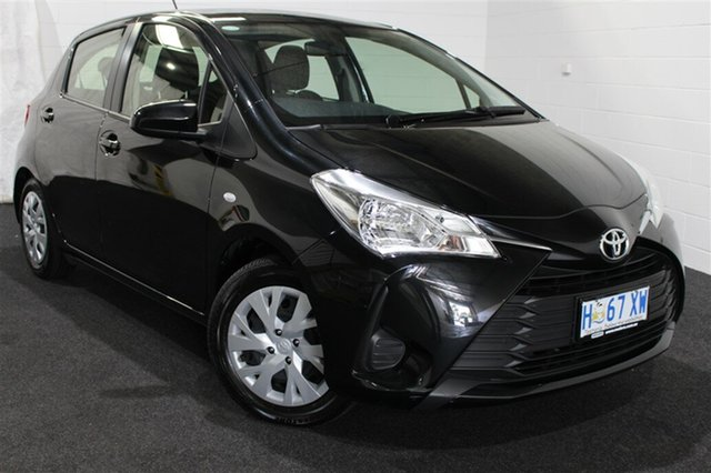 Used Toyota Yaris NCP130R Ascent, 2018 Toyota Yaris NCP130R Ascent Black 4 Speed Automatic Hatchback