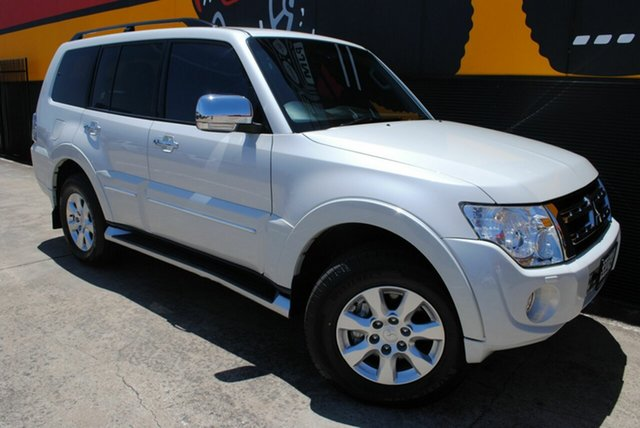 Used Mitsubishi Pajero NW MY12 Platinum II, 2012 Mitsubishi Pajero NW MY12 Platinum II Pearl White 5 Speed Sports Automatic Wagon