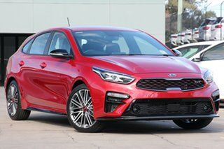 2021 Kia Cerato BD MY21 GT DCT Runway Red 7 Speed Automatic Hatchback.