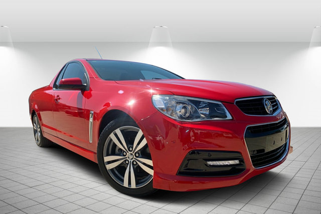 Used Holden Ute VF MY15 SV6 Ute, 2015 Holden Ute VF MY15 SV6 Ute Red 6 Speed Manual Utility