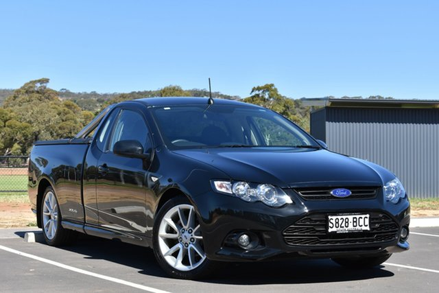 Used Ford Falcon FG MkII XR6 Ute Super Cab, 2014 Ford Falcon FG MkII XR6 Ute Super Cab Black 6 Speed Manual Utility
