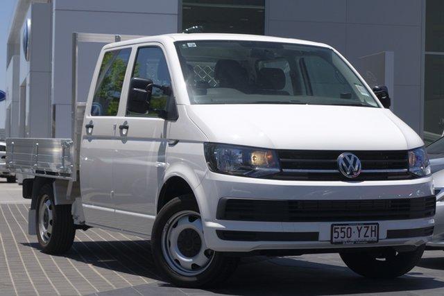Demo Volkswagen Transporter T6 MY18 TDI400 LWB DSG, 2018 Volkswagen Transporter T6 MY18 TDI400 LWB DSG Candy White 7 Speed Sports Automatic Dual Clutch
