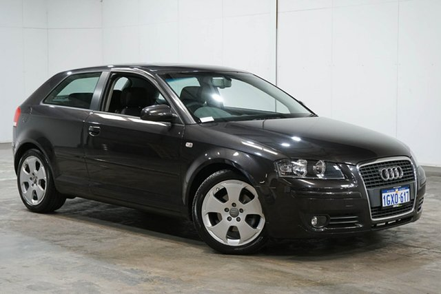 Used Audi A3 8P Ambition S Tronic, 2008 Audi A3 8P Ambition S Tronic Grey 6 Speed Sports Automatic Dual Clutch Hatchback