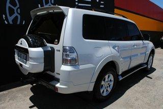 2012 Mitsubishi Pajero NW MY12 Platinum II Pearl White 5 Speed Sports Automatic Wagon.