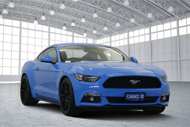 Used Ford Mustang FM 2017MY Fastback SelectShift, 2017 Ford Mustang FM 2017MY Fastback SelectShift Blue 6 Speed Sports Automatic Fastback