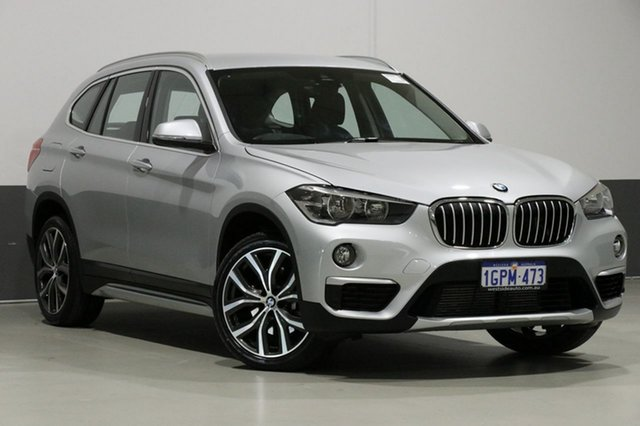 Used BMW X1 F48 MY18 xDrive 25I, 2018 BMW X1 F48 MY18 xDrive 25I Silver 8 Speed Automatic Wagon