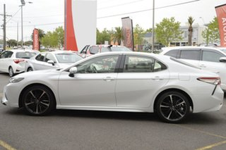 2019 Toyota Camry GSV70R SX Frosted White 8 Speed Sports Automatic Sedan