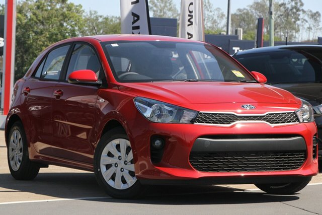 Used Kia Rio YB MY20 S, 2019 Kia Rio YB MY20 S Signal Red 4 Speed Sports Automatic Hatchback