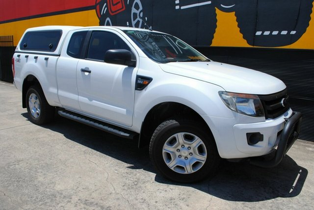 Used Ford Ranger PX XL Super Cab, 2012 Ford Ranger PX XL Super Cab Glacier White 6 Speed Manual Utility