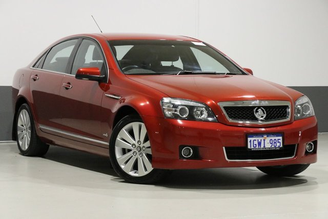 Used Holden Caprice WM II MY12 , 2012 Holden Caprice WM II MY12 Red 6 Speed Automatic Sedan
