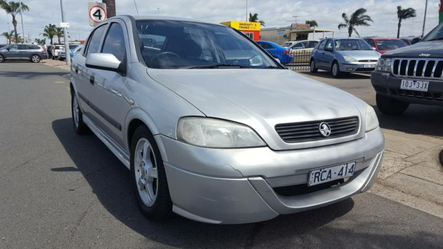 Used Holden Astra TS CD, 2001 Holden Astra TS CD Silver 4 Speed Automatic Hatchback