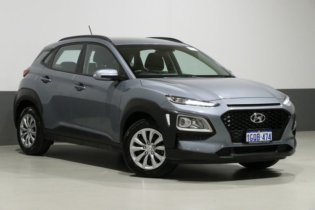 Used Hyundai Kona OS.2 MY19 GO (FWD), 2018 Hyundai Kona OS.2 MY19 GO (FWD) Silver 6 Speed Automatic Wagon