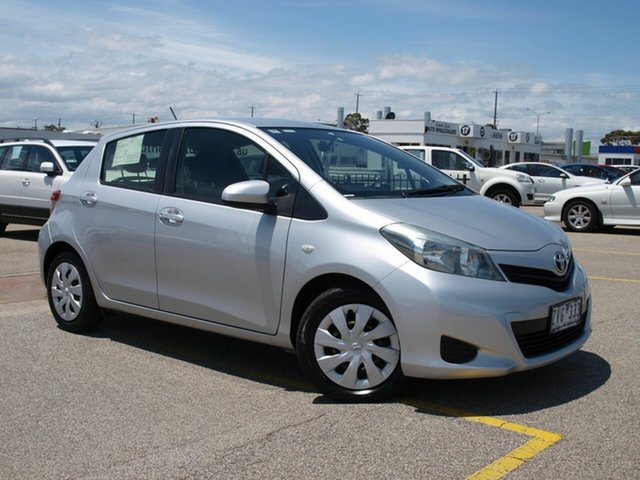 Used Toyota Yaris NCP131R YRS, 2013 Toyota Yaris NCP131R YRS Silver 4 Speed Automatic Hatchback