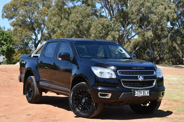 Used Holden Colorado RG MY16 LS-X Crew Cab, 2016 Holden Colorado RG MY16 LS-X Crew Cab Black 6 Speed Sports Automatic Utility