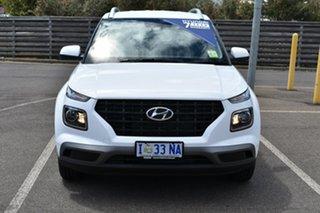 2019 Hyundai Venue QX MY20 Go Polar White 6 Speed Automatic Wagon.
