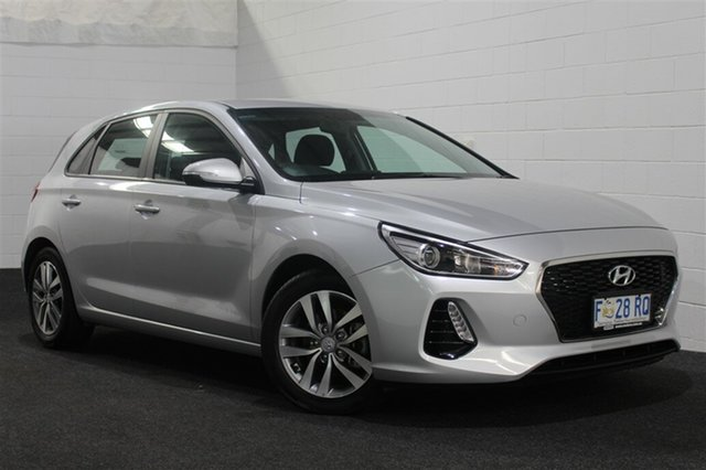 Used Hyundai i30 GD4 Series II MY17 Active X, 2017 Hyundai i30 GD4 Series II MY17 Active X Platinum Silver 6 Speed Sports Automatic Hatchback