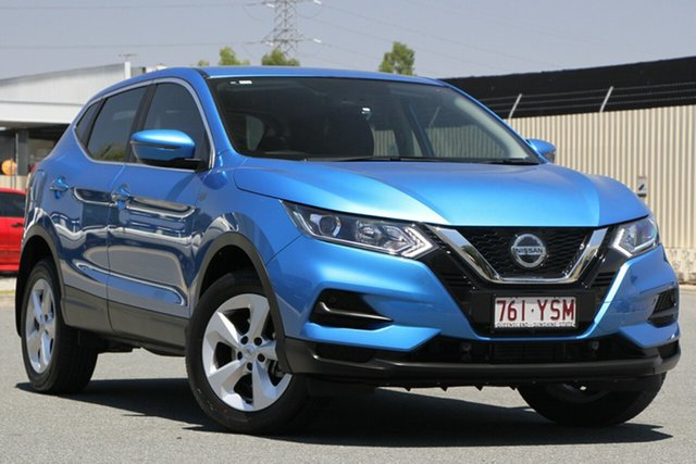 Used Nissan Qashqai J11 Series 2 ST X-tronic, 2018 Nissan Qashqai J11 Series 2 ST X-tronic Vivid Blue 1 Speed Constant Variable Wagon