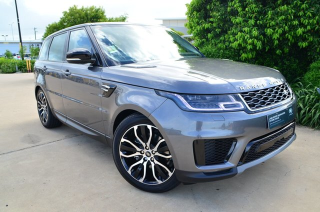 New Land Rover Range Rover Sport L494 19MY SDV6 183kW SE, 2018 Land Rover Range Rover Sport L494 19MY SDV6 183kW SE Corris Grey 8 Speed Sports Automatic Wagon