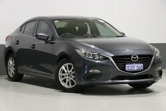 Used Mazda 3 BM Maxx, 2014 Mazda 3 BM Maxx Grey 6 Speed Automatic Sedan