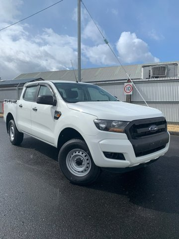 Used Ford Ranger PX MkII XL Double Cab 4x2 Hi-Rider, 2016 Ford Ranger PX MkII XL Double Cab 4x2 Hi-Rider White 6 Speed Manual Utility