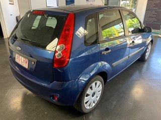 2008 Ford Fiesta LX Blue 5 Speed Manual Hatchback