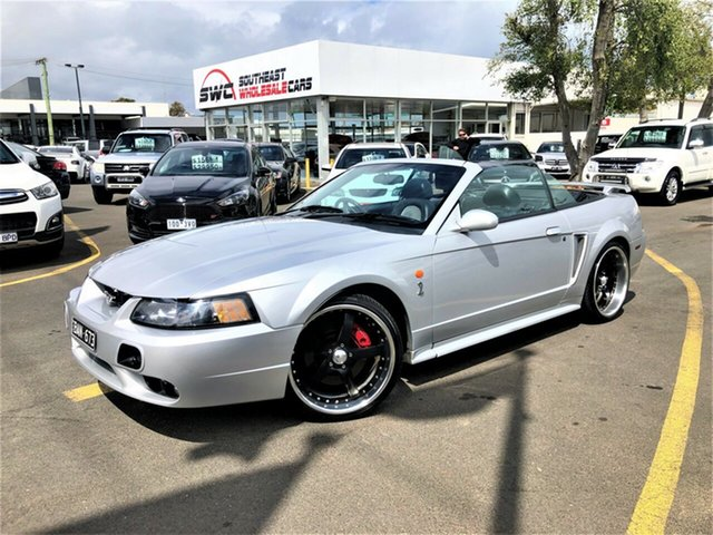 Used Ford Mustang  Cobra, 2001 Ford Mustang Cobra Silver 5 Speed Manual Convertible