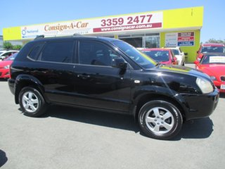 2006 Hyundai Tucson JM City Black 4 Speed Sports Automatic Wagon.