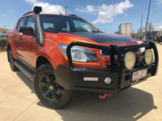 Used Holden Colorado RG MY16 Z71 Crew Cab, 2015 Holden Colorado RG MY16 Z71 Crew Cab Gold 6 Speed Sports Automatic Utility