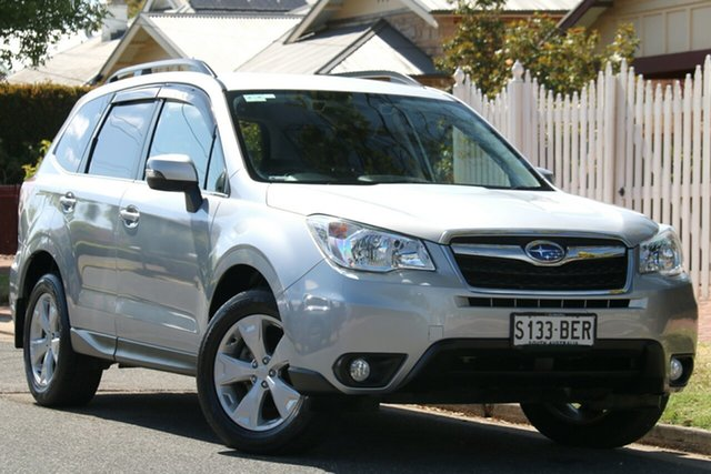 Used Subaru Forester S4 MY14 2.5i-L Lineartronic AWD, 2014 Subaru Forester S4 MY14 2.5i-L Lineartronic AWD Silver 6 Speed Constant Variable Wagon