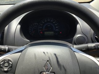2017 Mitsubishi Mirage LA MY16 ES Red Continuous Variable Hatchback