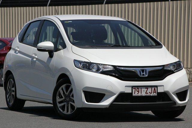 Used Honda Jazz GF MY16 VTi, 2016 Honda Jazz GF MY16 VTi White 5 Speed Manual Hatchback