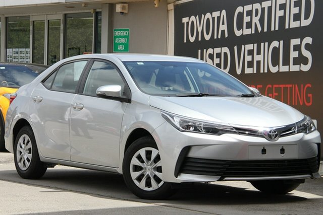 Used Toyota Corolla ZRE172R Ascent S-CVT, 2018 Toyota Corolla ZRE172R Ascent S-CVT Silver Ash 7 Speed Constant Variable Sedan