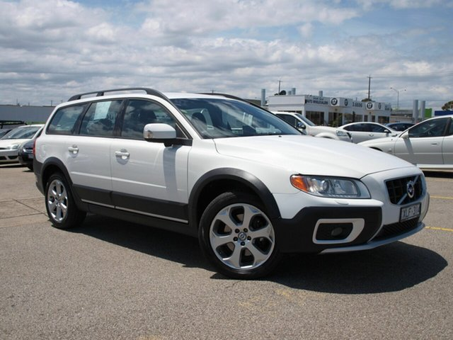 Used Volvo XC70 BZ MY10 D5 Geartronic, 2009 Volvo XC70 BZ MY10 D5 Geartronic White 6 Speed Sports Automatic Wagon