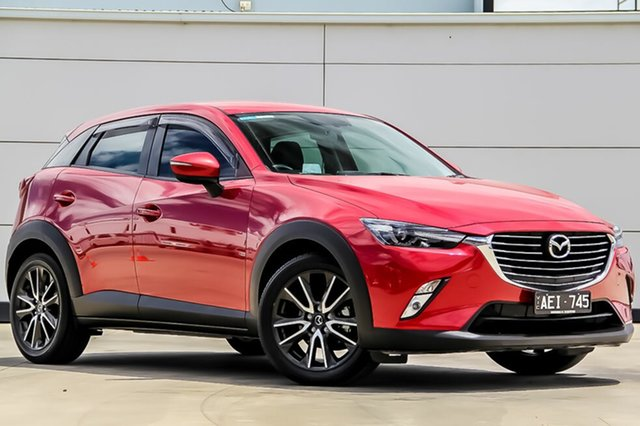 Used Mazda CX-3 DK2W7A sTouring SKYACTIV-Drive, 2015 Mazda CX-3 DK2W7A sTouring SKYACTIV-Drive Soul Red 6 Speed Sports Automatic Wagon