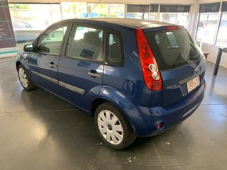 2008 Ford Fiesta LX Blue 5 Speed Manual Hatchback.