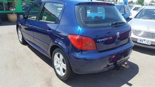 2004 Peugeot 307 T5 MY04 XSE Blue 5 Speed Manual Hatchback