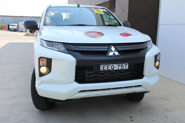 Demo Mitsubishi Triton MR MY19 GLX Double Cab, 2019 Mitsubishi Triton MR MY19 GLX Double Cab White 6 Speed Manual Utility