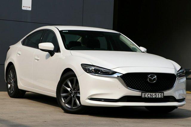 Demo Mazda 6 GL1033 Sport SKYACTIV-Drive, 2019 Mazda 6 GL1033 Sport SKYACTIV-Drive Snowflake White 6 Speed Sports Automatic Sedan