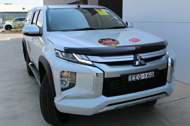 Demo Mitsubishi Triton MR MY19 GLS Double Cab, 2019 Mitsubishi Triton MR MY19 GLS Double Cab White Diamond 6 Speed Sports Automatic Utility