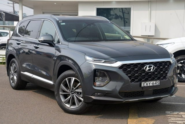 Used Hyundai Santa Fe TM MY19 Elite, 2018 Hyundai Santa Fe TM MY19 Elite 8 Speed Sports Automatic Wagon